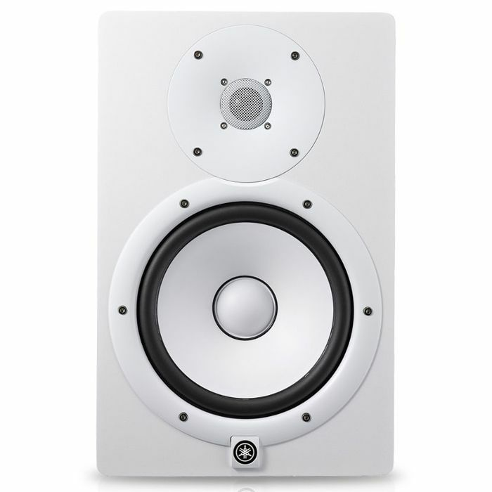 YAMAHA - Yamaha HS8I Powered Studio Monitor (white, single)