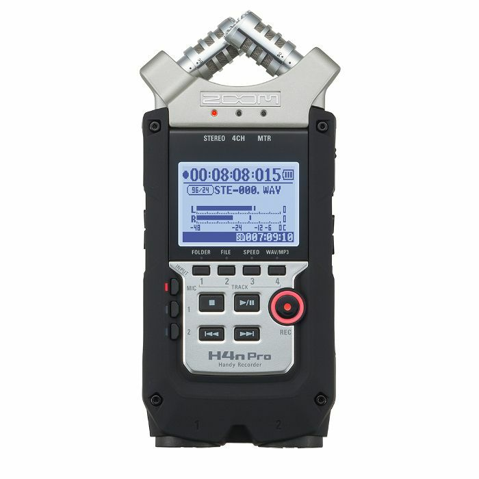 ZOOM - Zoom H4n Pro Handy Recorder With Cubase LE & Wavelab LE Music Production Software
