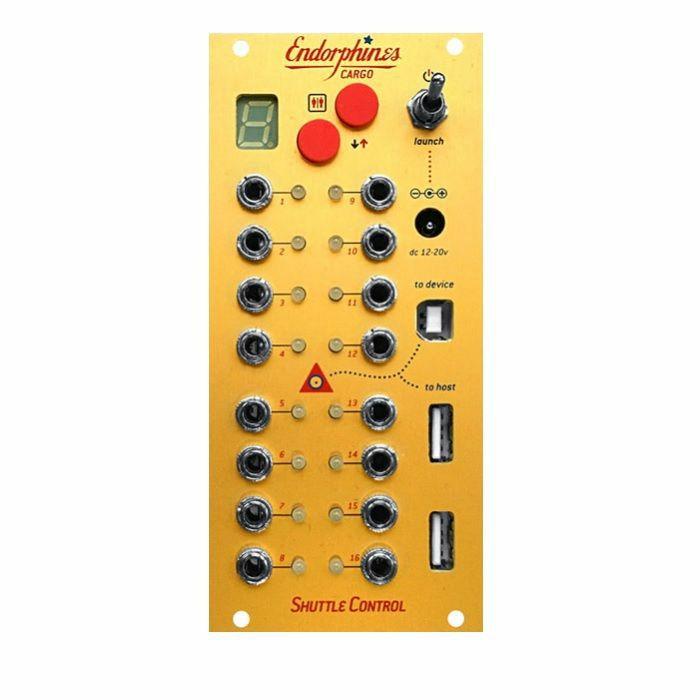 ENDORPHIN.ES - Endorphin.es Shuttle Control USB To MIDI To CV Converter Module