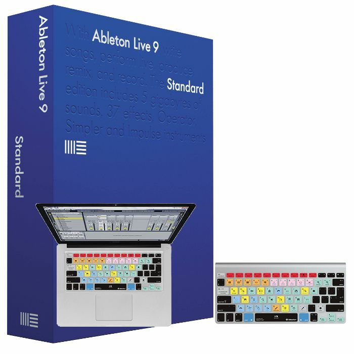 ABLETON/EDITORS KEYS - Ableton Live 9 Standard Edition + FREE Editors Keys Ableton Live Keyboard Cover For MacBooks & iMac Wireless Keyboards