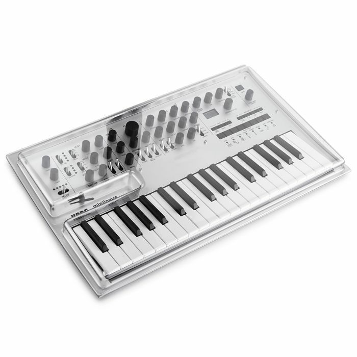 DECKSAVER - Decksaver Korg Minilogue Cover (smoked clear)