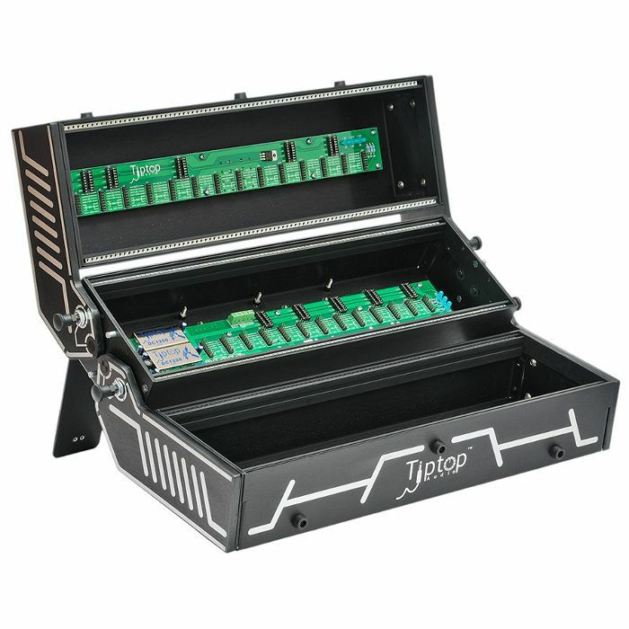 TIPTOP AUDIO - Tiptop Audio Station 252HP Folding Eurorack Module Case (black widow, requires 4600mA Zeus power adapter - not supplied)