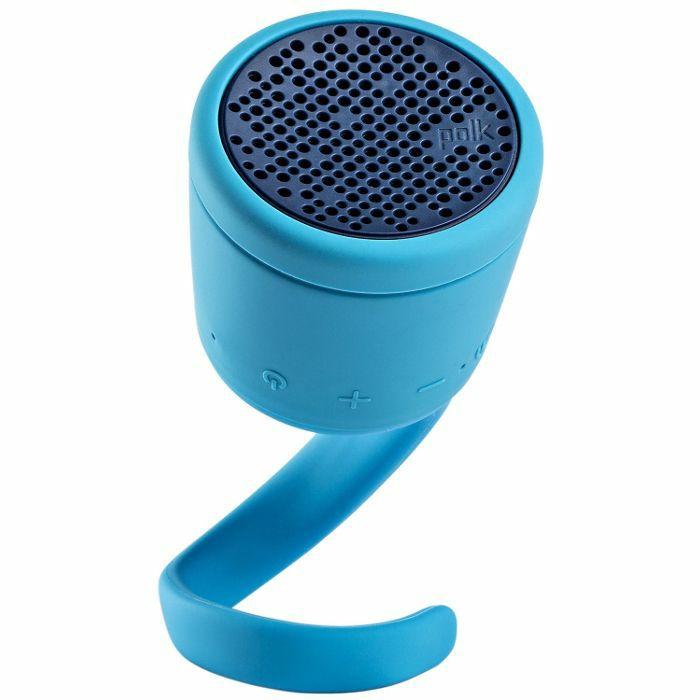 POLK AUDIO - Polk Audio Boom Swimmer Duo Waterproof Wireless Bluetooth Speaker (blue)