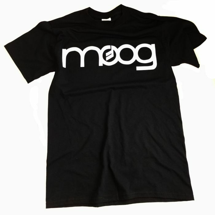 MOOG - Moog Logo T-Shirt (black & white, medium)