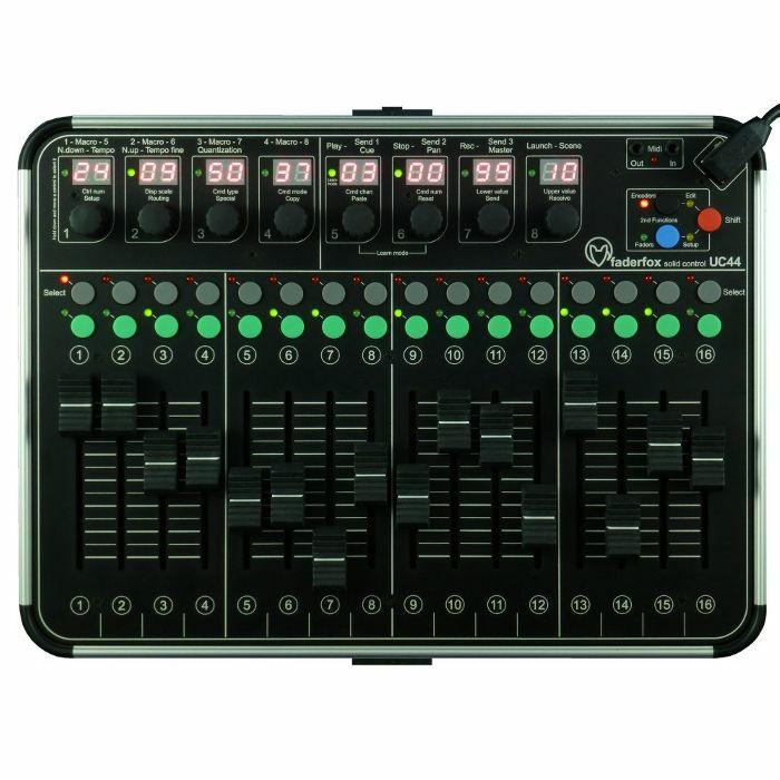 FADERFOX - Faderfox UC44 Universal MIDI Controller