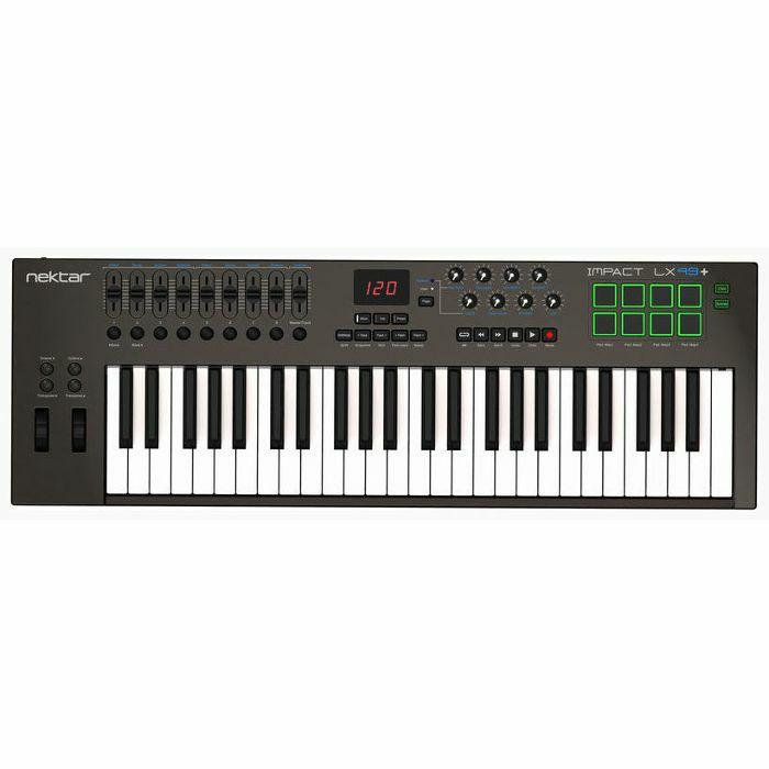 NEKTAR - Nektar Impact LX49+ USB MIDI Controller Keyboard With Bitwig 8 Track Software