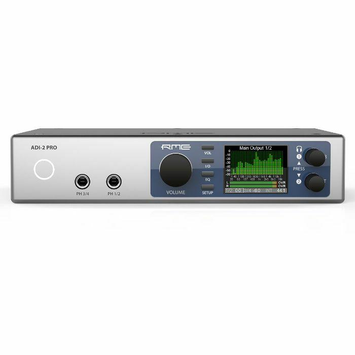 RME - RME ADI2 Pro USB 2.0 AD/DA Converter DAC Audio Interface & Headphone Amplifier