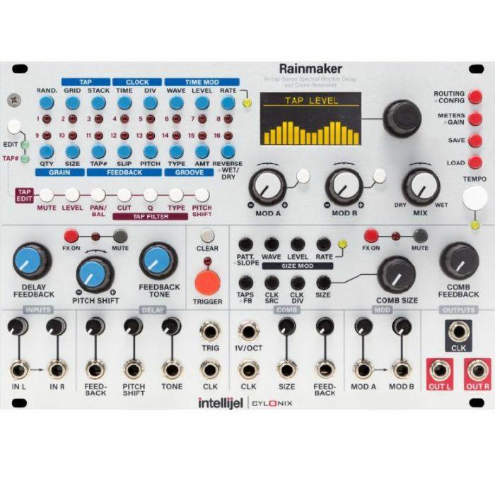 INTELLIJEL/CYLONIX - Intellijel/Cylonix Rainmaker 16 Tap Stereo Spectral Rhythm Delay & Comb Resonator Module