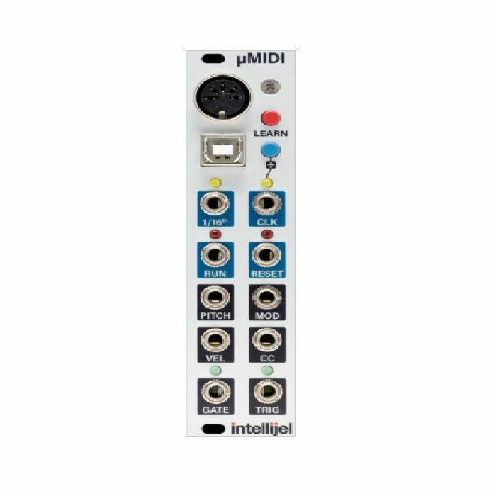 INTELLIJEL - Intellijel µMIDI USB DIN MIDI Voice & Clock Interface Module