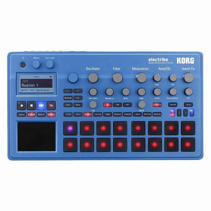 KORG - Korg Electribe EMX2 Music Production Station (blue version)