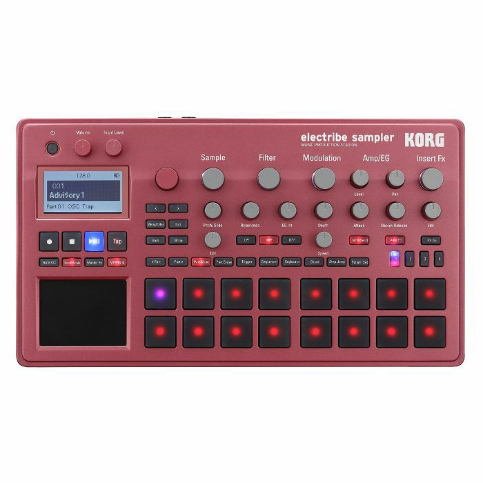 KORG - Korg Electribe Sampler ESX2 Music Production Station (red version)