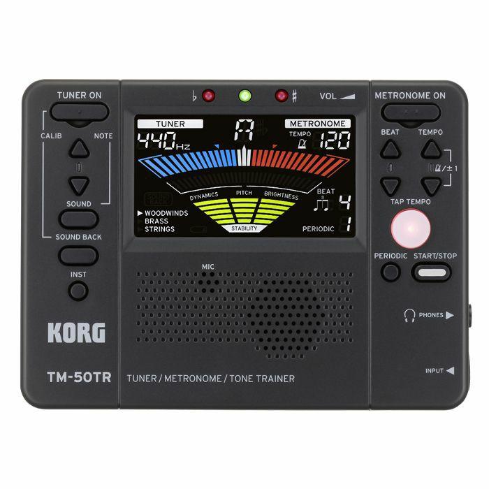 KORG - Korg TM 50TR Tuner Metronome & Tone Trainer (black)