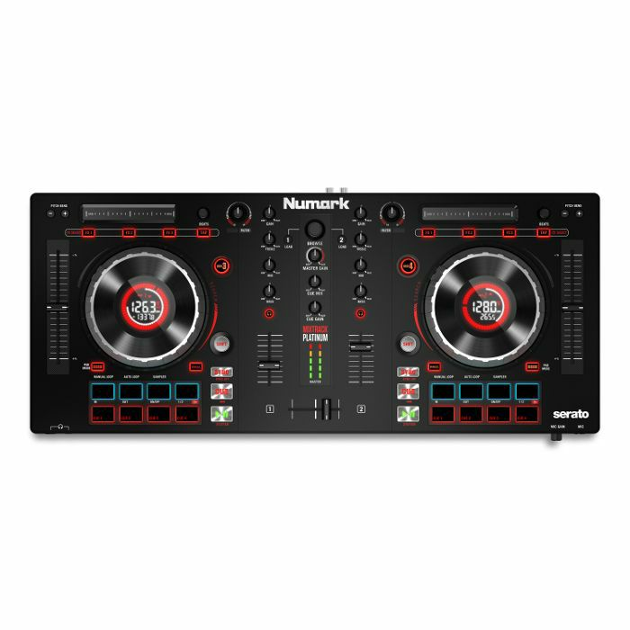 NUMARK - Numark Mixtrack Platinum DJ Controller With Serato DJ Intro Software