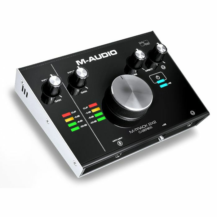 M AUDIO - M Audio M Track 2X2 Audio Interface With Cubase LE Recording Software