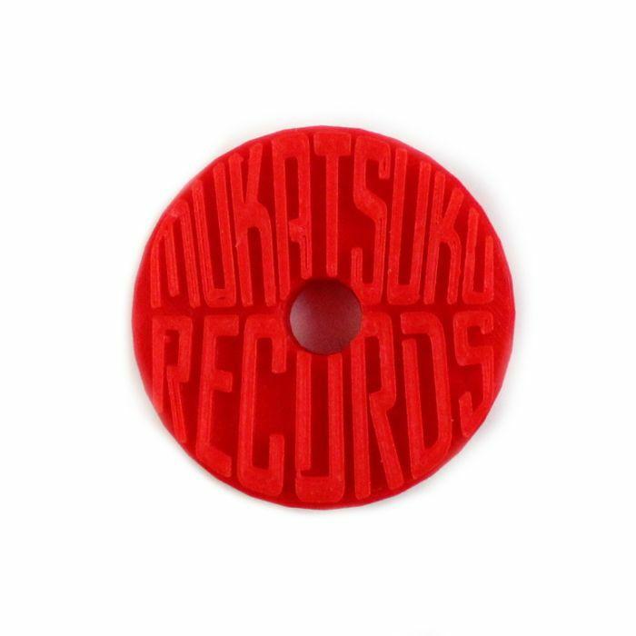 MUKATSUKU - Mukatsuku Branded 3D Logo 45 Adapter (red) *Juno Exclusive*