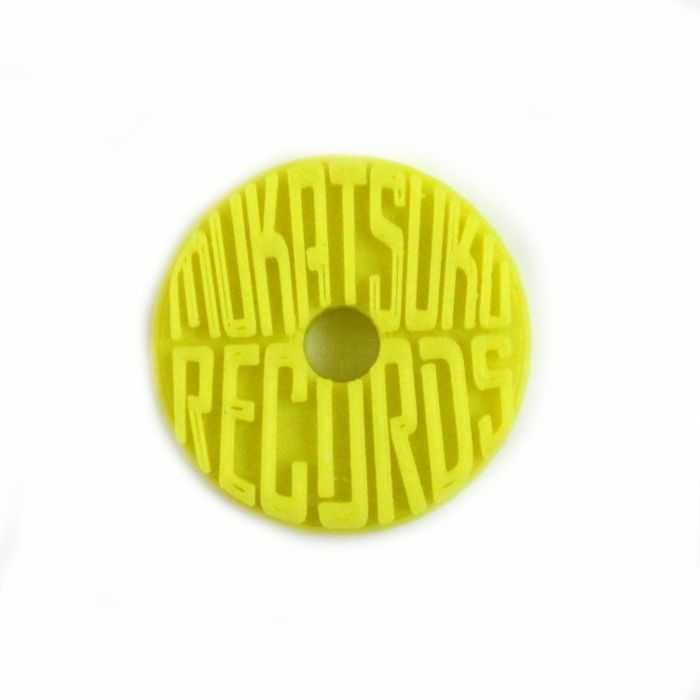 MUKATSUKU - Mukatsuku Branded 3D Logo 45 Adapter (yellow) *Juno Exclusive*