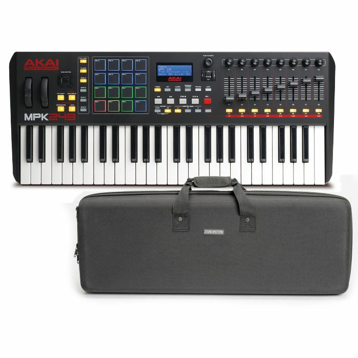 Midi Controller Software For Live Performance : akai magma akai mpk249 performance usb midi pad keyboard controller with ableton live lite ~ Russianpoet.info Haus und Dekorationen