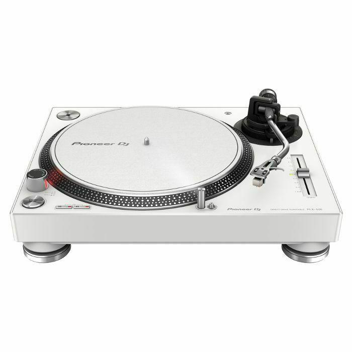 PIONEER - Pioneer PLX500 Direct Drive Turntable (white)