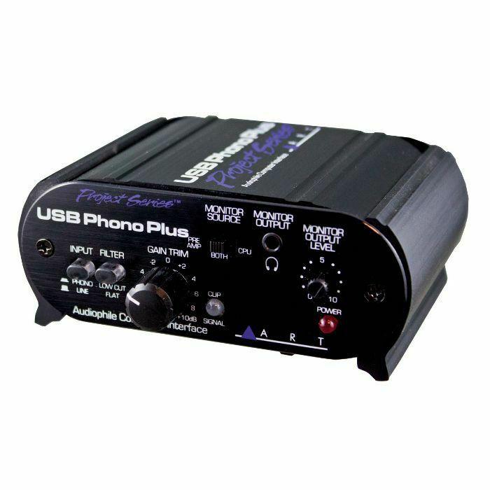 ART - ART USB Phono Plus PS Audiophile Preamp & Computer Interface (B-STOCK)