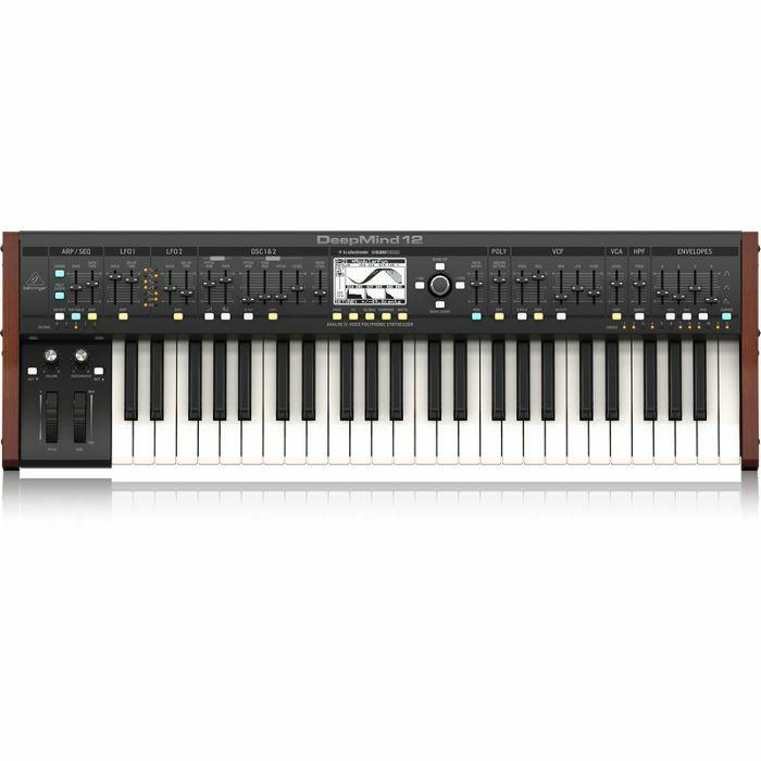 BEHRINGER - Behringer DeepMind 12 Keyboard Analogue Synthesizer