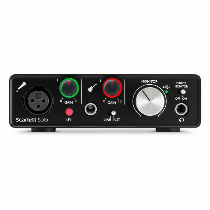 FOCUSRITE - Focusrite Scarlett Solo USB Audio Interface (2nd Generation) (B-STOCK)
