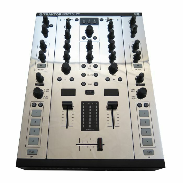 1200 PLATES - 1200 Plates Native Instruments Z2 Faceplate (chrome, single)