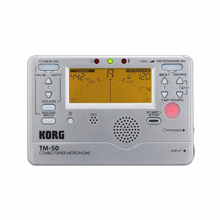 KORG - Korg TM50 Combo Tuner Metronome (silver)