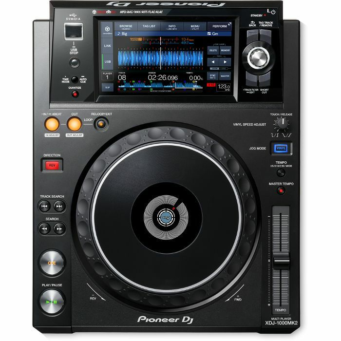 PIONEER - Pioneer XDJ1000 Mk2 Performance Multi Player