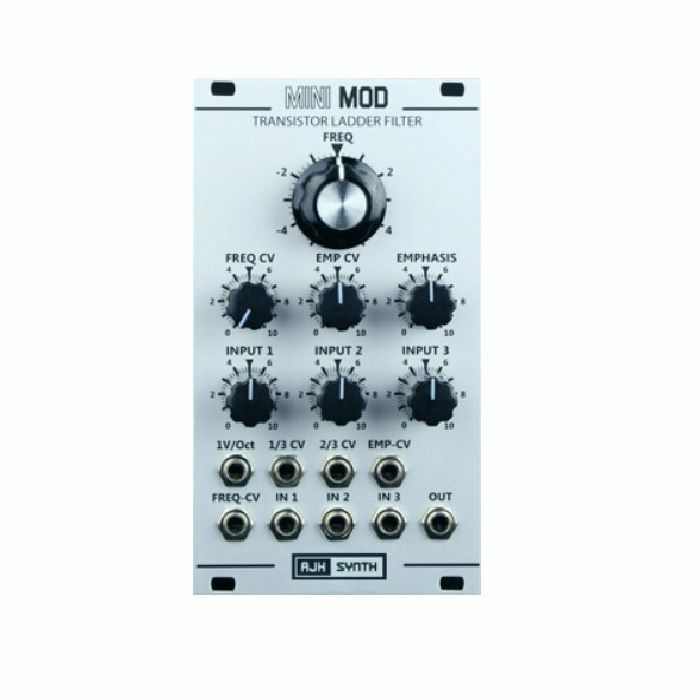 AJH SYNTH - AJH Synth Mini Mod VCF Transistor Ladder Filter Module (silver)