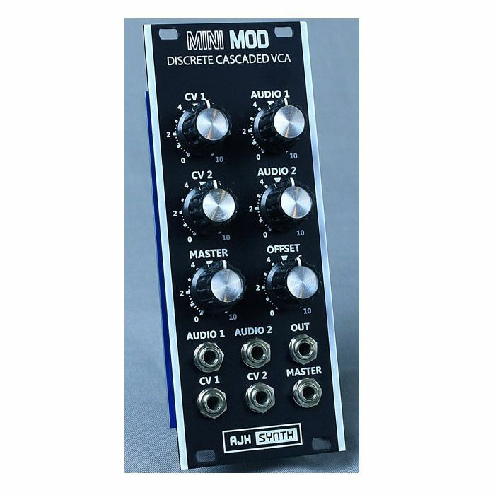 AJH SYNTH - AJH Synth Mini Mod Discrete Cascaded VCA Module (black)