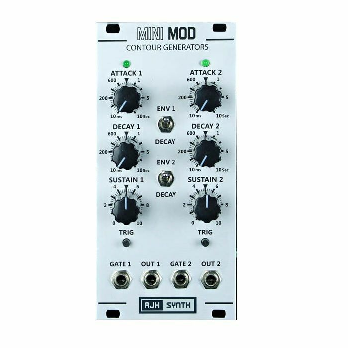 AJH SYNTH - AJH Synth Mini Mod Dual Contour Generators Module (silver)