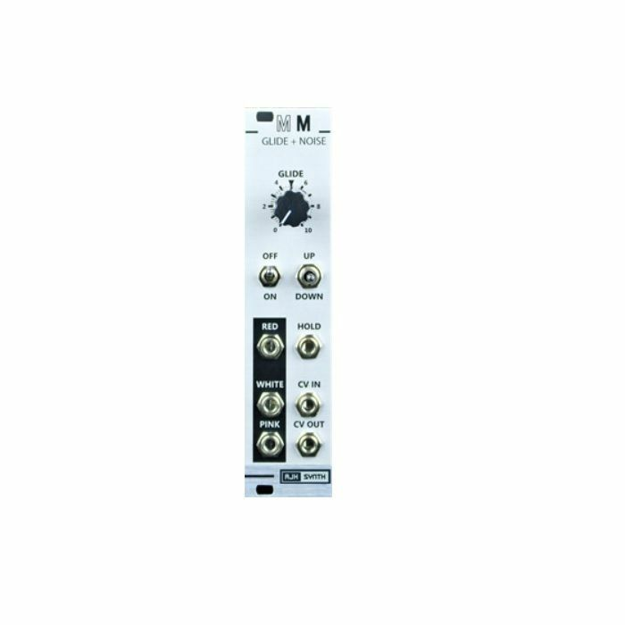 AJH SYNTH - AJH Synth Mini Mod Glide + Noise Module (silver)
