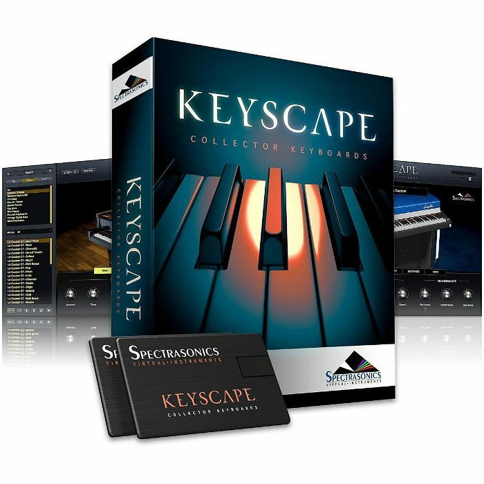 SPECTRASONICS - Spectrasonics Keyscape Collector Keyboards Virtual Instrument (USB)