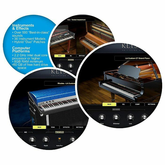 Spectrasonics Keyscape Collector Keyboards Virtual Instrument (USB)