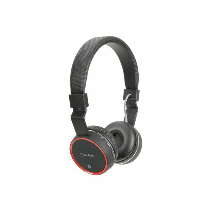 AV LINK - AV Link Rechargeable Wireless Bluetooth Noise Cancelling Headphones (black)