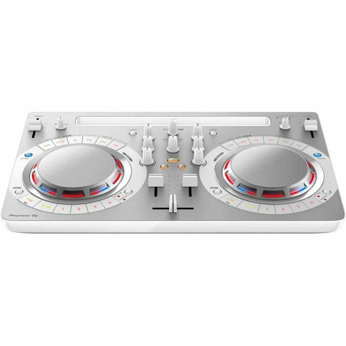 PIONEER - Pioneer DDJ WeGO 4 DJ Controller With Virtual DJ Software (white)