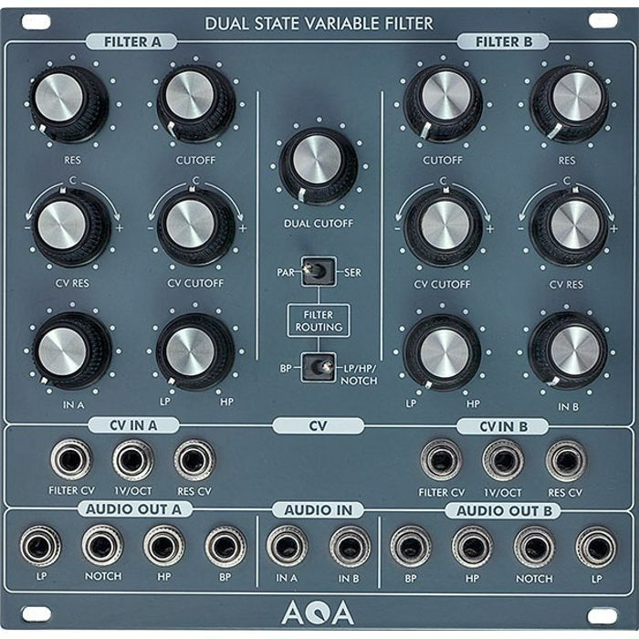 AQA ELEKTRIX - AQA Elektrix Dual State Variable Filter Module