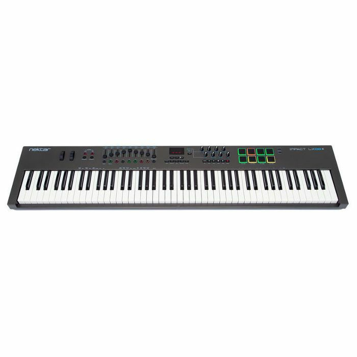 NEKTAR - Nektar Impact LX88+ USB MIDI Controller Keyboard With Bitwig 8 Track Software