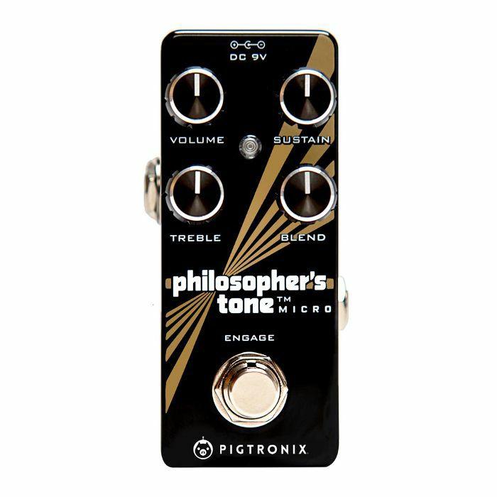 PIGTRONIX - Pigtronix Philosophers Tone Micro Compressor Pedal