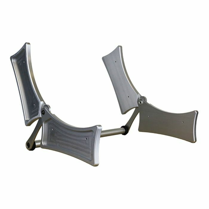 COMPANYOFQUAIL - Companyofquail EIT1 Folding Case For Two Elektron Desktop Modules (silver)