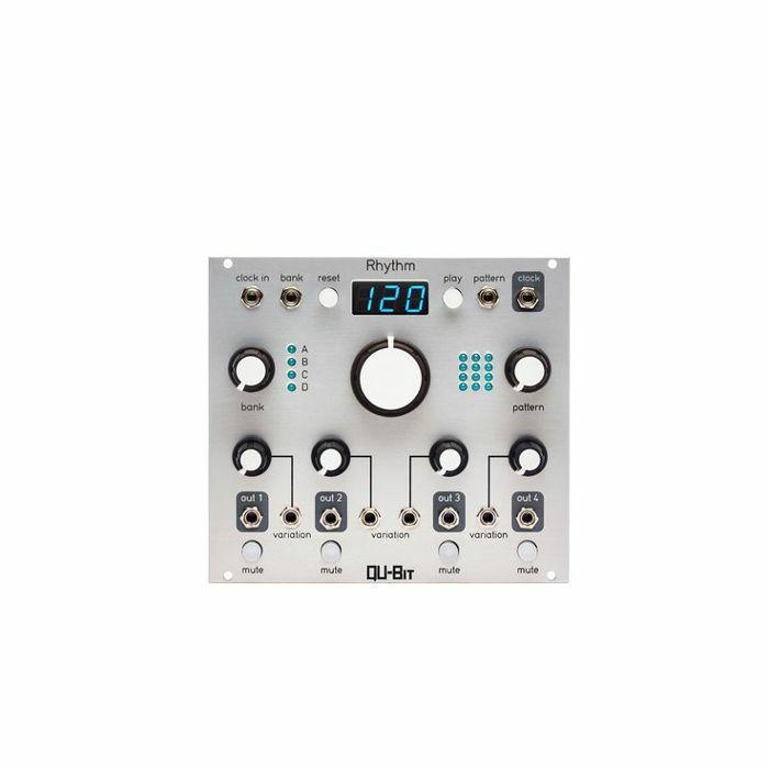 QU BIT - Qu-Bit Rhythm Four Channel Trigger Generator Module
