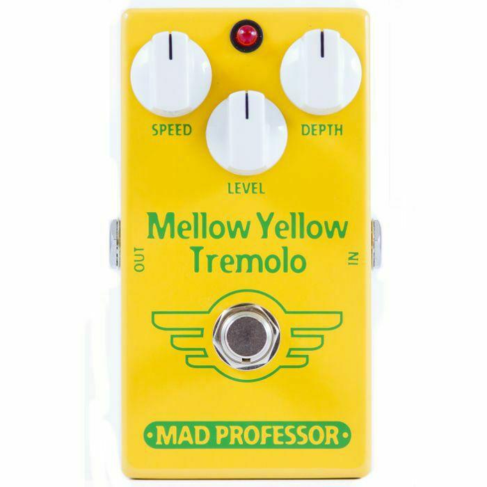 MAD PROFESSOR - Mad Professor Mellow Yellow Tremolo Effects Pedal (B-STOCK)