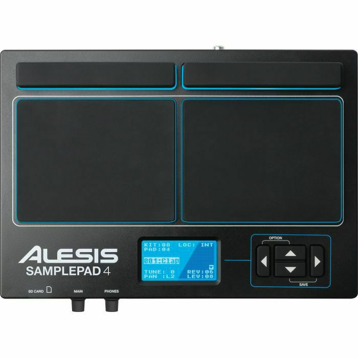 ALESIS - Alesis SamplePad 4 Percussion & Sample Triggering Instrument (B-STOCK)