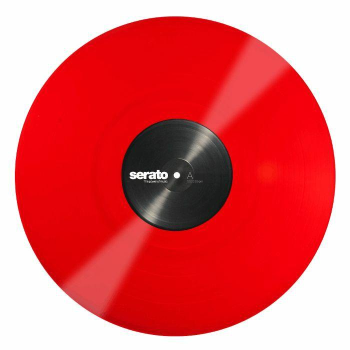 SERATO - Serato Standard Colours 12 Inch Control Vinyl (red, single)