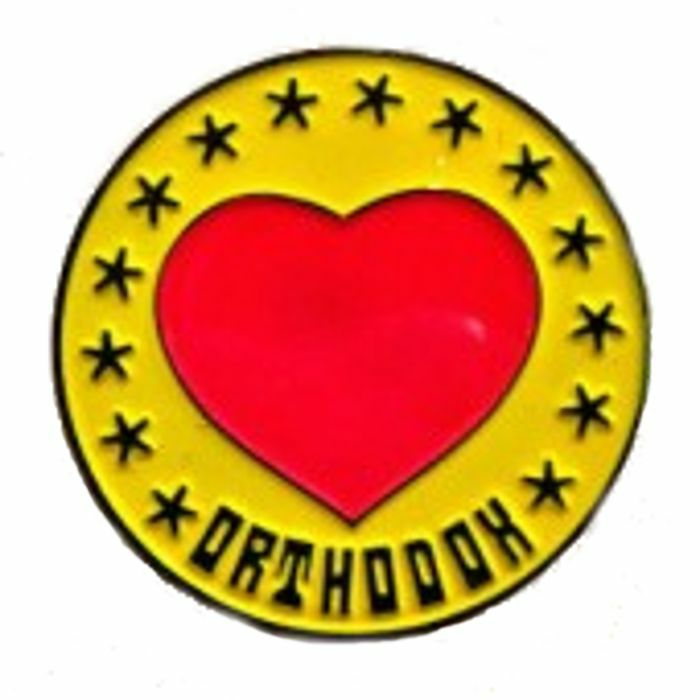 ORTHODOX HEART - Orthodox Heart Enamel Pin Badge