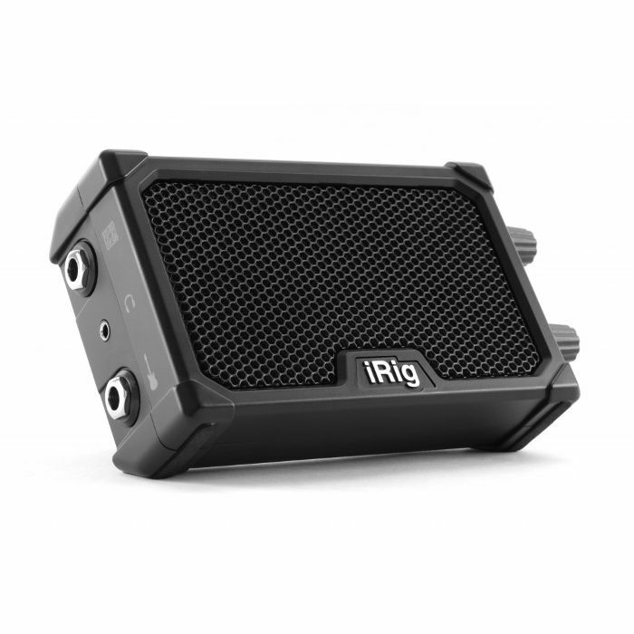 IK MULTIMEDIA - IK Multimedia iRig Nano Amp Battery Powered Micro Amp & Interface For Mobile Devices (black)