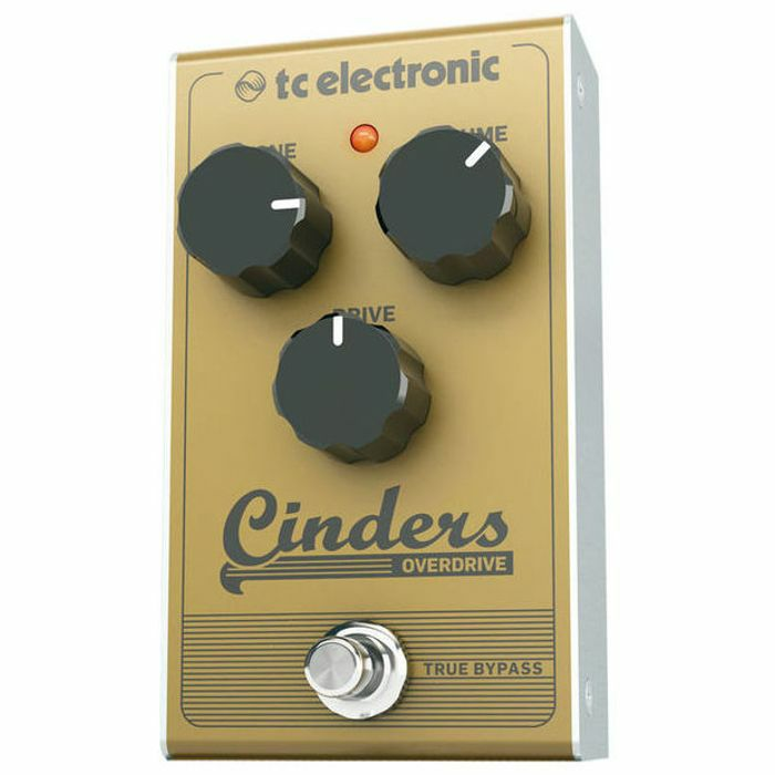 tc electronic tc electronic cinders overdrive pedal vinyl at juno records. Black Bedroom Furniture Sets. Home Design Ideas