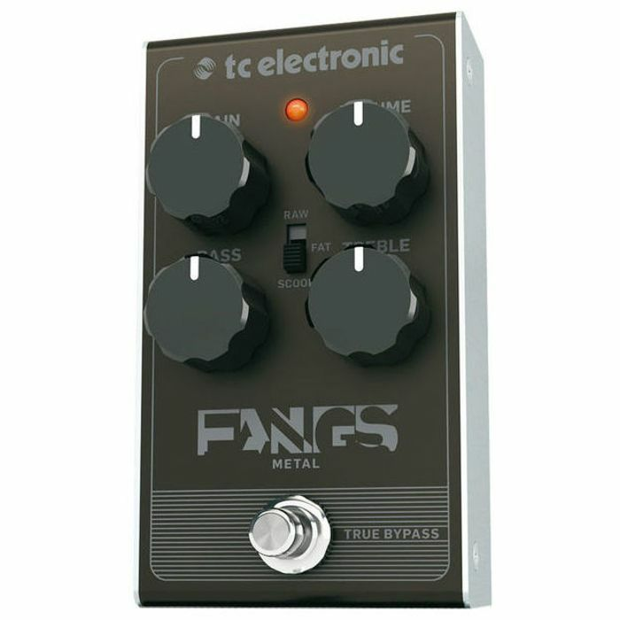 tc electronic tc electronic fangs metal distortion pedal vinyl at juno records. Black Bedroom Furniture Sets. Home Design Ideas