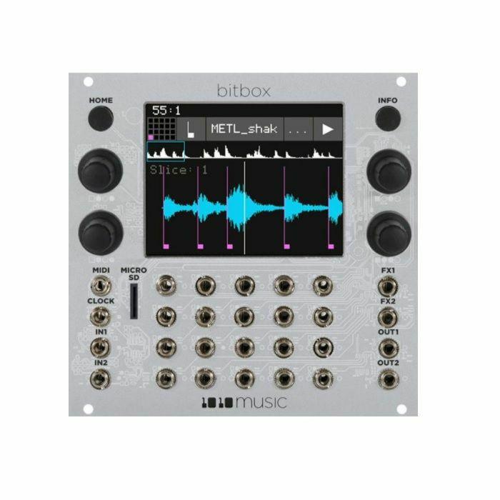 1010 MUSIC - 1010 Music Bitbox Sampler & Looper Module