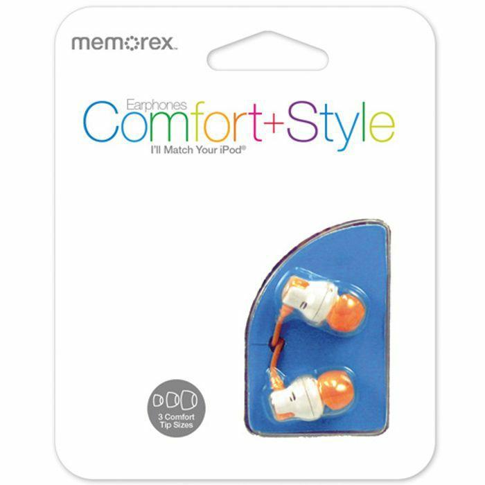 MEMOREX - Memorex CB25 Earphones (orange)